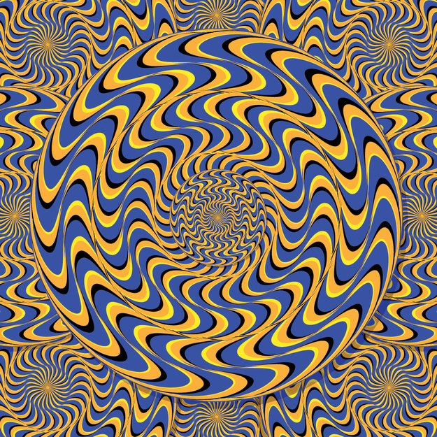 Optical illusions - YOU'RE GETTING DIZZY