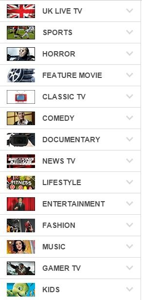 Global live tv channels